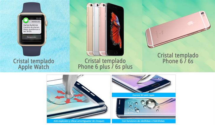 cristal protector Coolpad Cool 3 Plus